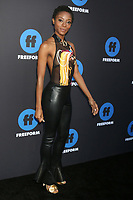 LOS ANGELES - JAN 18:  Sibongile Mlambo at the Freeform Summit 2018 at NeueHouse on January 18, 2018 in Los Angeles, CA