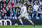 Cristiano Ronaldo of Real Madrid in action during the La Liga 2017-18 match between Real Madrid and RC Deportivo La Coruna at Santiago Bernabeu Stadium on January 21 2018 in Madrid, Spain. Photo by Diego Gonzalez / Power Sport Images