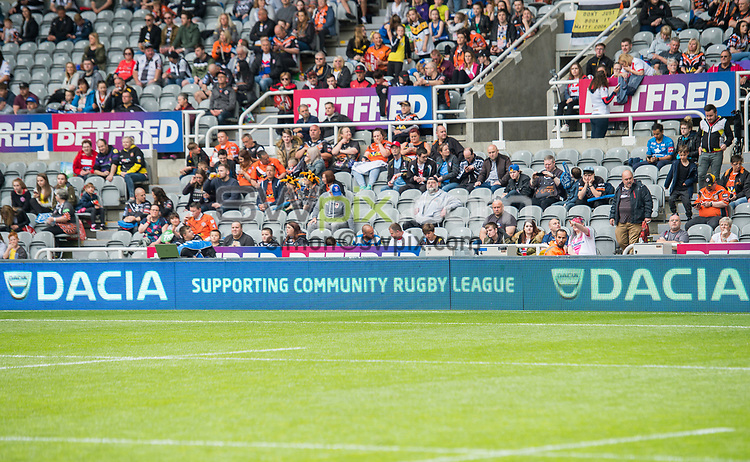 Picture by Allan McKenzie/SWpix.com - 21/05/2017 - Rugby League - Dacia Magic Weekend - St James' Park, Newcastle, England - The Brief, Dacia, branding.