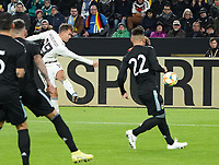 Luca Waldschmidt (Deutschland Germany) zieht ab - 09.10.2019: Deutschland vs. Argentinien, Signal Iduna Park, Freunschaftsspiel<br /> DISCLAIMER: DFB regulations prohibit any use of photographs as image sequences and/or quasi-video.