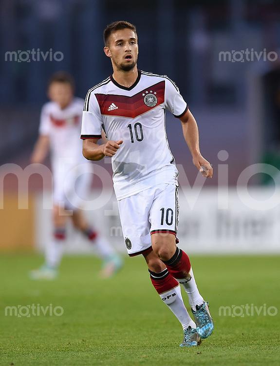 Fussball International Euro 2015 Quali Play-off-Rueckspiel U 21 in Essen 14.10.2014 Deutschland - Ukraine     Moritz Leitner (Deutschland)