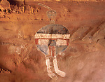 All-American Man pictograph, Needles District, Canyonlands National Park, Utah