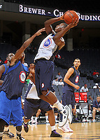 Shannon Scott at the NBPA Top100 camp June 18, 2010 at the John Paul Jones Arena in Charlottesville, VA. Visit www.nbpatop100.blogspot.com for more photos. (Photo © Andrew Shurtleff)