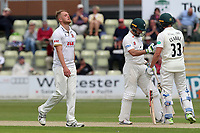 Frustration for Jamie Porter of Essex as Worcestershire add to their total during Worcestershire CCC vs Essex CCC, Specsavers County Championship Division 1 Cricket at Blackfinch New Road on 12th May 2018