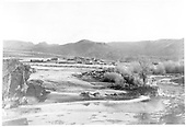 Scene - &quot;South side of Gunnison River near County Bridge.&quot;<br /> D&amp;RG  Sapinero, CO  Taken by Hunter, J.F. - 11/20/1912