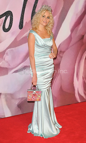 Pixie Lott at the Fashion Awards 2016, Royal Albert Hall, Kensington Gore, London, England, UK, on Monday 05 December 2016. <br /> CAP/CAN<br /> ©CAN/Capital Pictures /MediaPunch ***NORTH AND SOUTH AMERICAS ONLY***