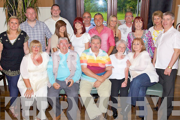 Suprise - William Mills from Mounthawk, seated centre having a great time with friends and family at his suprise 50th birthday party held in O'Donnell's of Mounthawk on Saturday night..