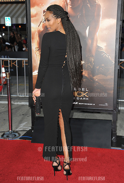Keri Lynn Hilson at the world premiere of her movie &quot;Riddick&quot; at the Regency Village Theatre, Westwood.<br /> August 28, 2013  Los Angeles, CA<br /> Picture: Paul Smith / Featureflash