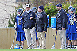 Los Angeles, CA 02/18/11 - BYU Coaches watch the action from the sidelines during the Loyola Marymount - BYU game at LMU.