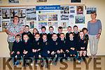 M/s Lucid's junior infant class at Ballyduff NS on their first day at school. Front : Corey O'Carroll, Una O'Connor, Fiachra O'Connor, Abigail O'Gorman, Jack Lucid O'Rourke, Josh Walsh Lucid, Kitty Dineen  & Abigail Sheehan. Back :  M/s  Lucid, Christopher Houlihan, Paula Stack, Tiernan O'Brien, Ryan O'Sullvan, Bobby Lucid Boyle, Liam Houlihan, Cian O'Grady,  Edan O'Brien &Mary Dowling.