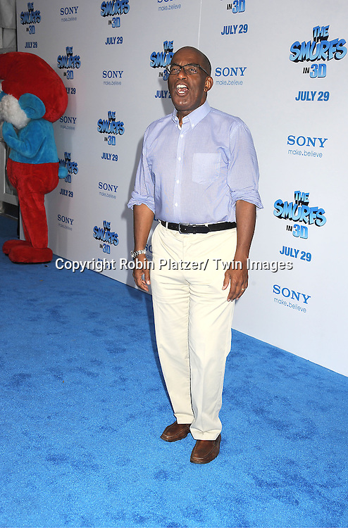 "Al Roker attending The World Premiere of ""The Smurfs"" on ..July 24, 2011 at The Ziegfeld Theatre in New York City. ..The movie stars Neil Patrirck Harris, Katy Perry, Sofia Vergara, Jayma Mays, Hank Azaria, George Lopez, Alan Cumming, Jeff Foxworthy and Tim Gunn."