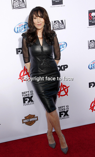 "Katey Sagal at the FX's Season 6 Premiere Screening of ""Sons Of Anarchy"" held at the Dolby Theatre in Hollywood on September 7, 2013 in Los Angeles, California. Credit: PopularImages/face to face"
