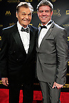 BURBANK - APR 26: Fred Willard, Harlan Boll at the 42nd Daytime Emmy Awards Gala at Warner Bros. Studio on April 26, 2015 in Burbank, California