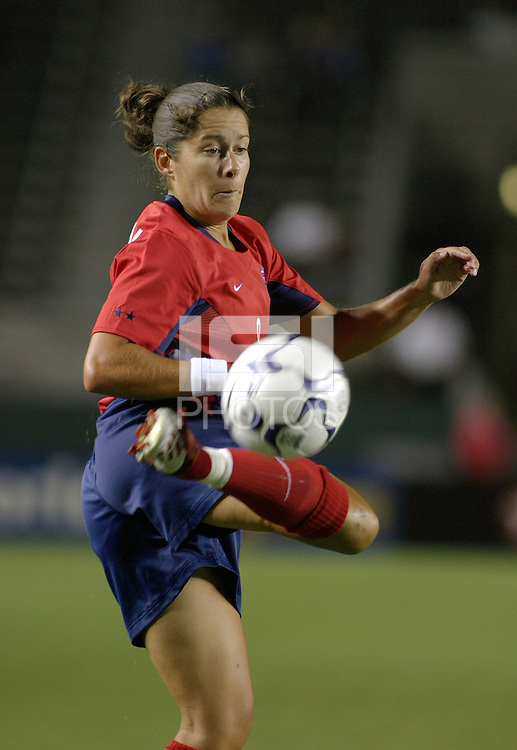 Shannon MacMillan, USWNT vs. Costa Rica, September 1, 2003.