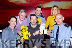 l-r: Eleanor O'Doherty, Tim Moriarty, Paul, Garda Emmet Flanagan, Katerina Breen and Sargent Dermot O'Connell launching the Irish Cancer Society Daffodil coffee Morning in association with Killarney Garda which will be held in the Killarney Towers Hotel on the 22nd March