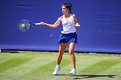 June 18th 2017, Edgbaston Priory Club; Tennis Tournament; Aegon Classic Birmingham; Sunday Qualifiers; Ipek Soylu forehand against Miyu Kato