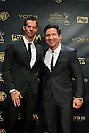 BURBANK - APR 26: Cameron Mathison, Mario Lopez at the 42nd Daytime Emmy Awards Gala at Warner Bros. Studio on April 26, 2015 in Burbank, California