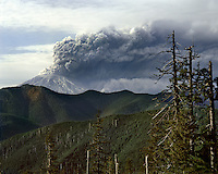 Mt St Helens from West Point Peak Washington on May 18th 1980