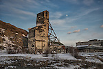 Old Giant Mine headframe Mining