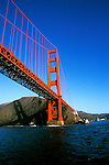 California: San Francisco Bay, Golden Gate Bridge,  Photo: baycru104.Photo copyright Lee Foster, 510/549-2202, lee@fostertravel.com, www.fostertravel.com