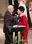 Terrence McNally and Chita Rivera during the The 6th Annual LILLY Awards Presentation at Playwrights Horizons on June 1, 2015 in New York City.