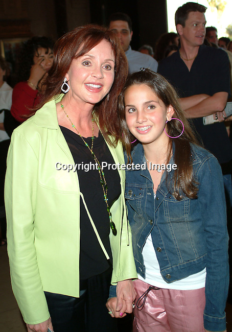 Jacklyn Zeman and daughter Lacey<br />
