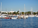 Harbor in Coconut Grove, Miami, Florida