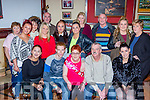 Breda O'Beirne, castleisland seated centre who celebrated her 50th birthday with her family and friends in the Kingdom House bar Castleisland on Saturday night