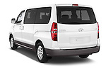 Car pictures of rear three quarter view of a 2015 Hyundai H-1 People Executive 5 Door Passenger Van Angular Rear