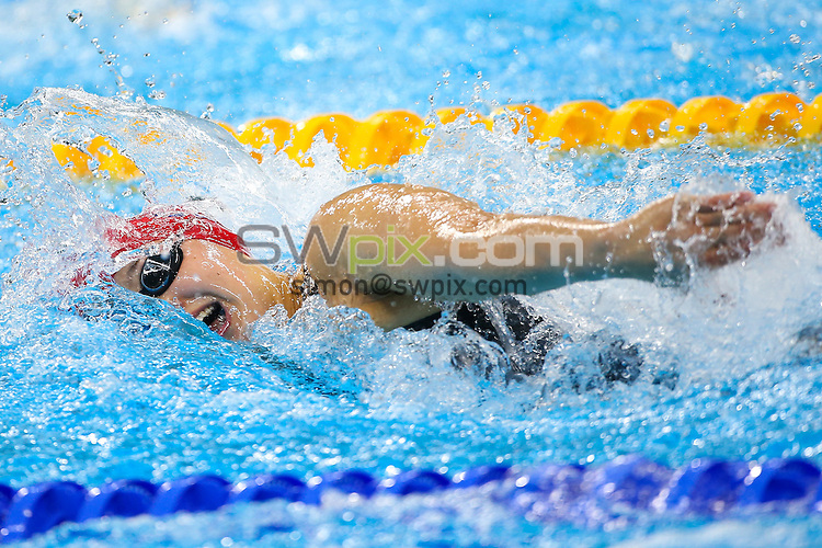 Picture by Alex Whitehead/SWpix.com - 13/09/2016 - 2016 Rio Paralympic Games - Swimming - Olympic Aquatics Stadium, Rio de Janeiro, Brazil - Great Britain's Alice Tai competes in the Women's 100m Freestyle - S10 Heat 2
