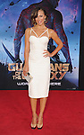 HOLLYWOOD, CA- JULY 21: Dancer Karina Smirnoff arrives at the Los Angeles premiere of Marvel's 'Guardians Of The Galaxy' at the El Capitan Theatre on July 21, 2014 in Hollywood, California.