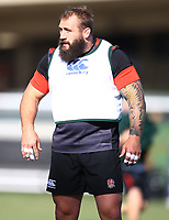 Joe Marler (Harlequins) during the England Rugby training session at  Jonsson Kings Park Stadium,Durban.South Africa. 05,06,2018 Photo by (Steve Haag)