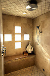 pvcLEE4/11-4-04/JP3/BIZ.  Shower/steam room off the master bedroom of a Lee Michael home in Albuquerque Acres, is photographed Thursday Nov. 4, 2004.  (Pat Vasquez-Cunningham/Journal)