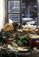 Europe/France/Midi-Pyrénées/65/Hautes-Pyrénées/Soupe de Louisette du  Pays Toy - Garbure   recette de Louisette - Auberge du Lienz à Barèges
