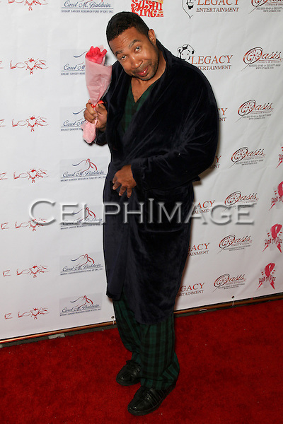 JOHN MARSHALL JONES.  Decked out in pajamas, celebrities arrive to Bowling After Dark, an event to benefit the Carol M. Baldwin Breast Cancer Research Fund, at Pinz Bowling Center in Studio City, CA, USA. February 13, 2010.