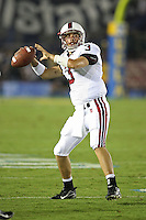 1 October 2006: Garrett Moore during Stanford's 31-0 loss to UCLA at the Rose Bowl in Pasadena, CA.
