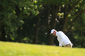 Nicolas COLSAERTS (BEL) during round 1 of the 2015 BMW PGA Championship over the West Course at Wentworth, Virgina Water, London. 21/05/2015<br /> Picture Fran Caffrey, www.golffile.ie: