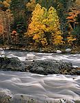 """Grindstone Falls, East Branch Penobscot River   MAINE"""