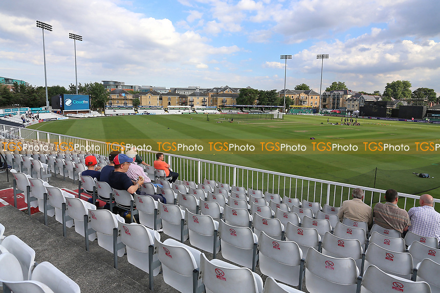 General view of the ground during Essex Eagles vs Somerset, NatWest T20 Blast Cricket at The Cloudfm County Ground on 13th July 2017