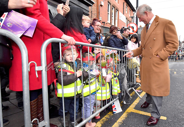 24 January 2018 - Cheshire, UK - Prince Charles Prince of Wales and Camilla Duchess of Cornwall as they arrive for a reception at Congleton Town Hall. Photo Credit: Alpha Press/AdMedia