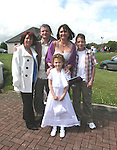 Ciara Bergin, Theresa Corcoran, Lisa, Killian and Martin Bergin at the Donacarney First Holy Communion...Photo NEWSFILE/Jenny Matthews.(Photo credit should read Jenny Matthews/NEWSFILE)....This Picture has been sent you under the condtions enclosed by:.Newsfile Ltd..The Studio,.Millmount Abbey,.Drogheda,.Co Meath..Ireland..Tel: +353(0)41-9871240.Fax: +353(0)41-9871260.GSM: +353(0)86-2500958.email: pictures@newsfile.ie.www.newsfile.ie.FTP: 193.120.102.198.