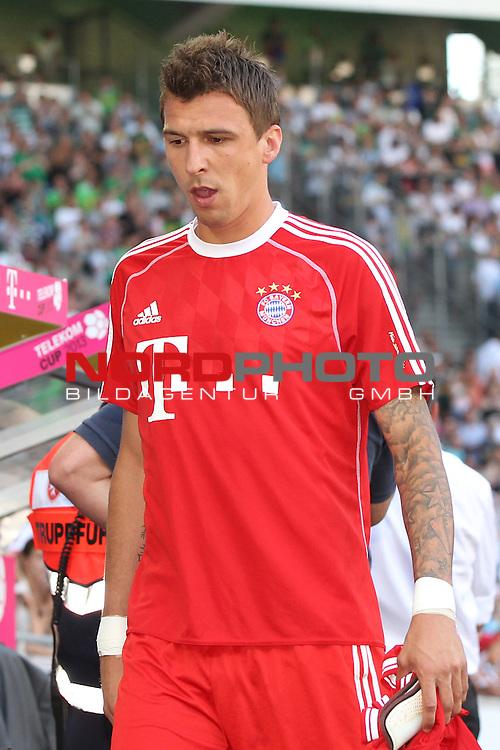 21.07.2013, Borussia Park, Moenchengladbach, GER, Telekom Cup 2013, Borussia M&ouml;nchengladbach vs FC Bayern M&uuml;nchen, im Bild<br /> Mario Mandzukic (Muenchen #9)<br /> <br /> Foto &copy; nph / Mueller