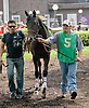 Quarters at Delaware Park on 5/16/12