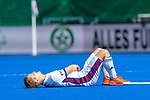Krefeld, Germany, May 19: During the Final4 Gold Medal fieldhockey match between Uhlenhorst Muelheim and Mannheimer HC on May 19, 2019 at Gerd-Wellen Hockeyanlage in Krefeld, Germany. (worldsportpics Copyright Dirk Markgraf) *** Jan-Philipp Fischer #23 of Mannheimer HC