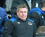 Former Leicester City manager Craig Shakespeare who has been brought in as first team coach during the premier league match at the Goodison Park Stadium, Liverpool. Picture date 2nd December 2017. Picture credit should read: Simon Bellis/Sportimage