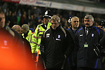 Birmingham City 0 Liverpool 7, 21/03/2006. St Andrews, FA Cup 6th Round. Birmingham City (blue) versus Liverpool,  The home side lost 0-7. Picture shows a dejected City manager Steve Bruce at the end of the game. Photo by Colin McPherson.