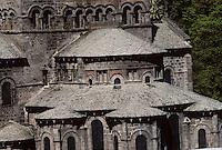 Europe/France/Auvergne/63/Puy-de-Dôme/Orcival: Chevet de l'église romane