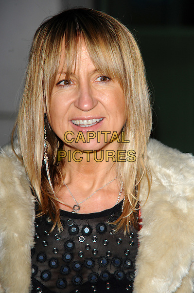 Carol McGiffin .Christmas with the Loose Women DVD launch party  photocall London, England 10th November 2011 .portrait headshot fur collar.CAP/CJ.©Chris Joseph/Capital Pictures.