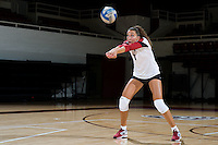 STANFORD, CA - AUGUST 13, 2013 - Ivana Vanjak of the Stanford Women's Volleyball team.