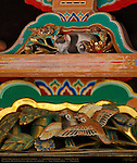 Nemuri Neko Sleeping Cat and Sparrows Hidari Jingoro Composite Image Nikko Toshogu Shrine Nikko Japan